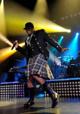 Diddy performing in Glasgow in 2010