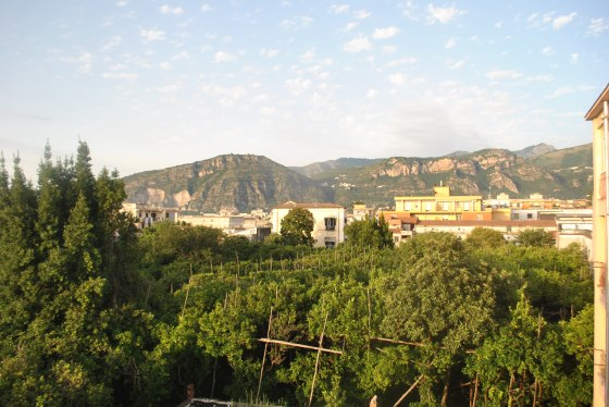 View of Sant Agnello from Casa Vienna