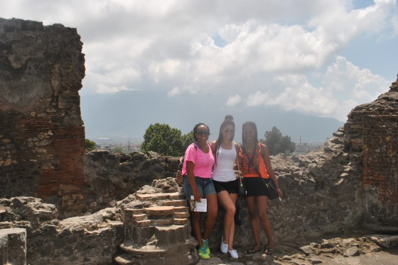 Pompeii with Hailee & Dacone