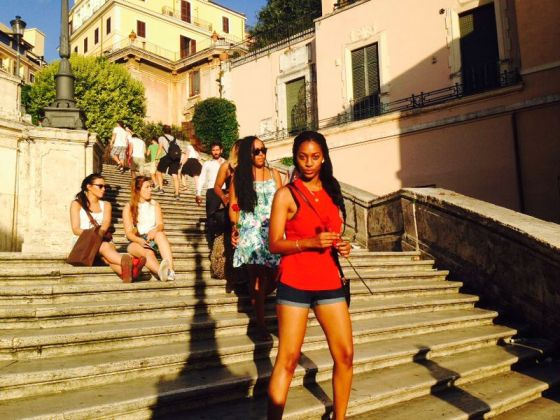 Dacone at The Spanish Steps
