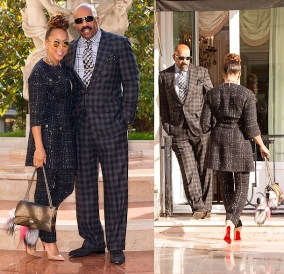 fabulous-looks-of-the-day-marjorie-harvey-steve-harvey-chanel-fashion-show-front-row-paris-fashion-week