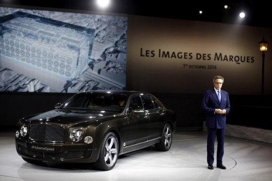 Bentley Mulsanne is the fastest ultra-luxury sedan on the planet and will go on sale in 2016.