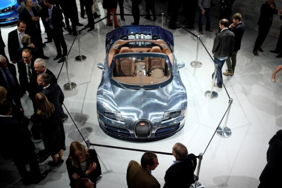 """There are fewer than 20 left of Bugatti's Veyron, from a limited production line of 450 cars that start at 1.46 million euros ($1.85 million)."" - BLOOMBERG"