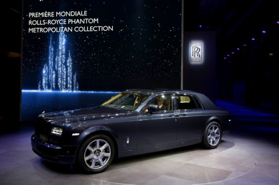Rolls Royce Phantom World Metropolitan Premiere