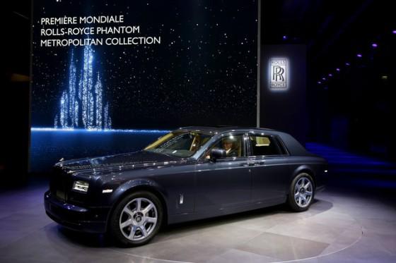 Rolls Royce Phantom World Metropolitan Premiere
