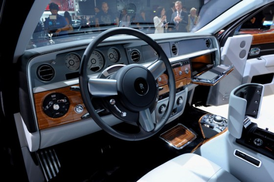 """""""The limited-edition version of the top-of-the-line Phantom sedan, was introduced and already sold out at 450,075 euros ($570,000), features picnic accessories as well as imaginary city skylines as decor options with a """"full palette"""" choice of 44,000 colors."""" - BLOOMBERG"""