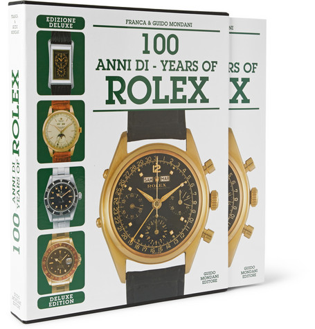 MONDANI 100 YEARS OF ROLEX DELUXE EDITION HARDCOVER BOOK £315