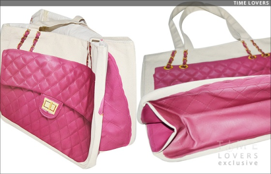 Thursday Friday Pink Chanel Tote $52 (In Stock at Olivia's Trunk)