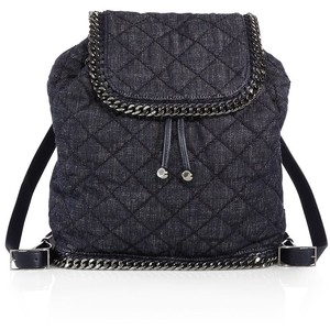 Stella McCartney Quilted Denim Backpack