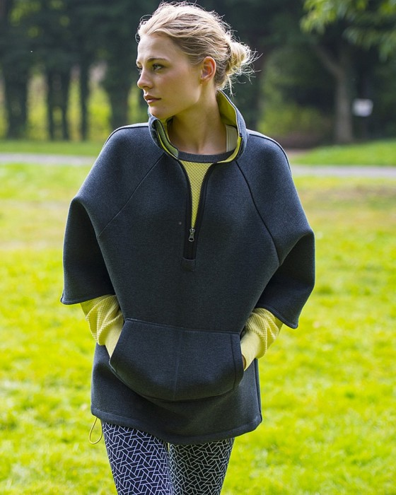 Sweaty Betty Uplift Luxe Cape ($203)