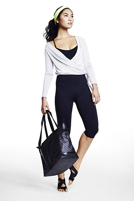 Nike Women's Ballet Wrap ($60) Nike Pro Inside Gym Women's Training Bodysuit ($95) Nike Studio Wrap Pack (3 for $120) Nike Studio Twist Training Head Tie ($15)