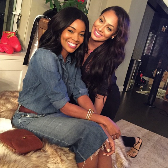 Gabrielle Union & Lala Anthony