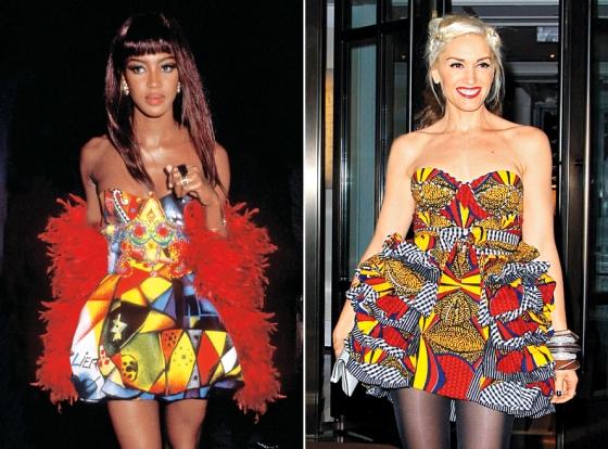 Naomi Campbell :: Gwen Stefani