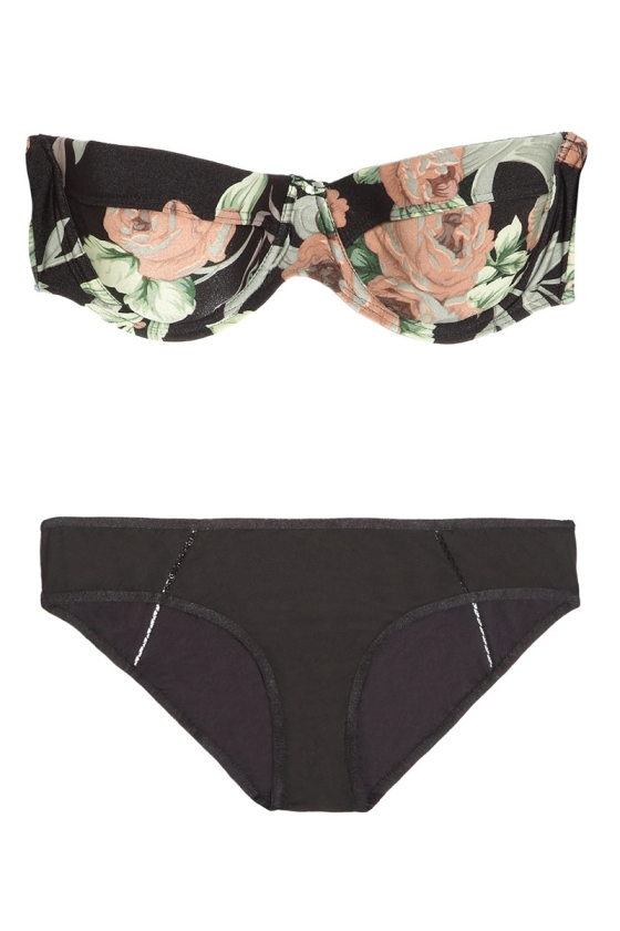Zimmermann Keeper Underwire Bikini, $250; us.zimmermannwear.com