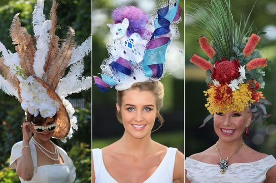 Hats-on-display-at-Ladies-Day-at-Ascot