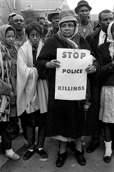 """Stop Police Killings"", Selma March, 1965"