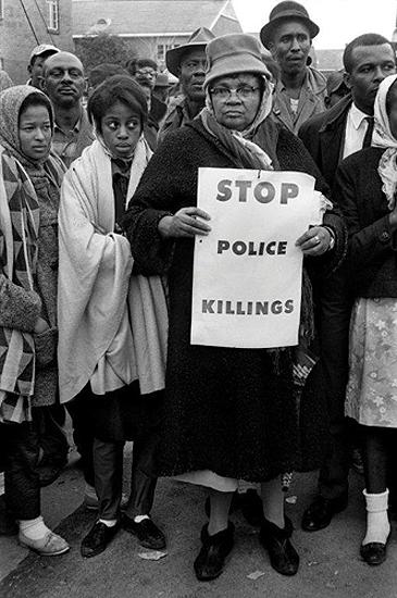 """Stop Police Killings"", Selma March, 1965"