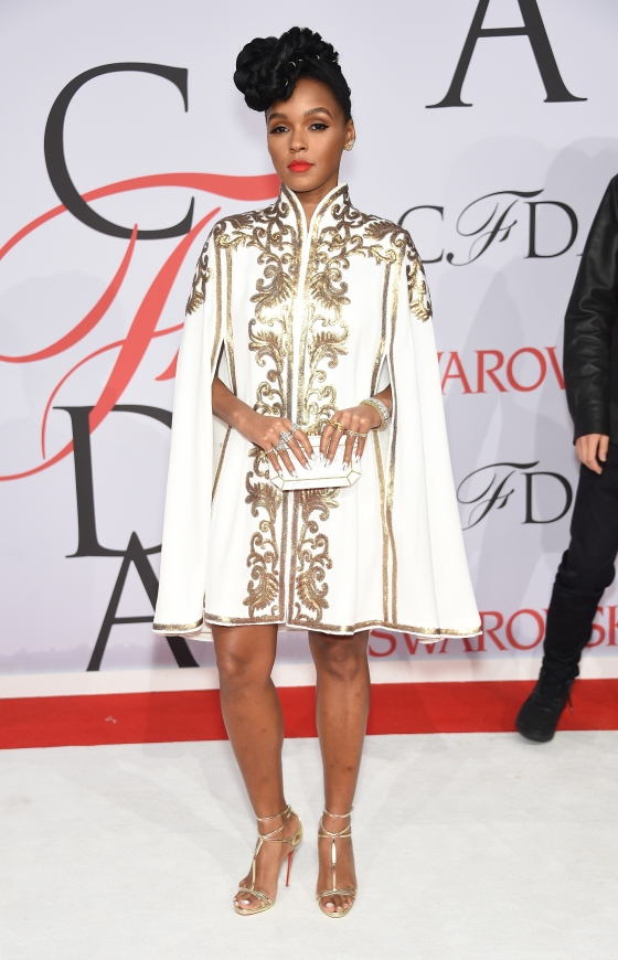 NEW YORK, NY - JUNE 01:  Janelle Monae attends the 2015 CFDA Fashion Awards  at Alice Tully Hall at Lincoln Center on June 1, 2015 in New York City.  (Photo by Dimitrios Kambouris/Getty Images)